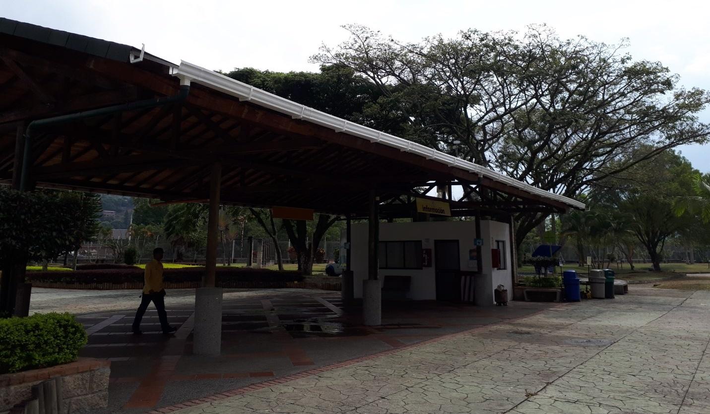 MANTENIMIENTO DE CUBIERTAS, TECHOS, LOCKERS EN EL PARQUE DE LAS AGUAS-BARBOSA