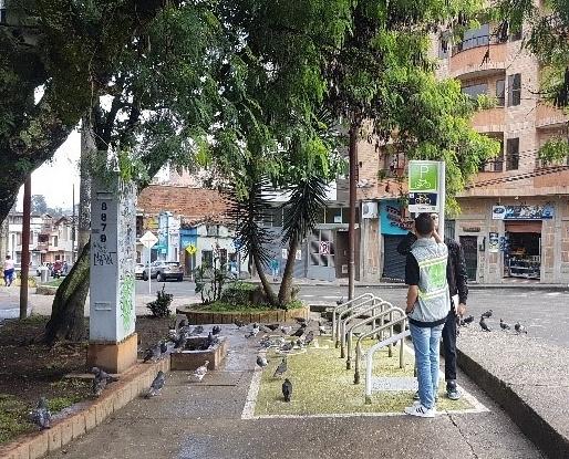 CICLO PARQUEADEROS MUNICIPIO DE CALDAS